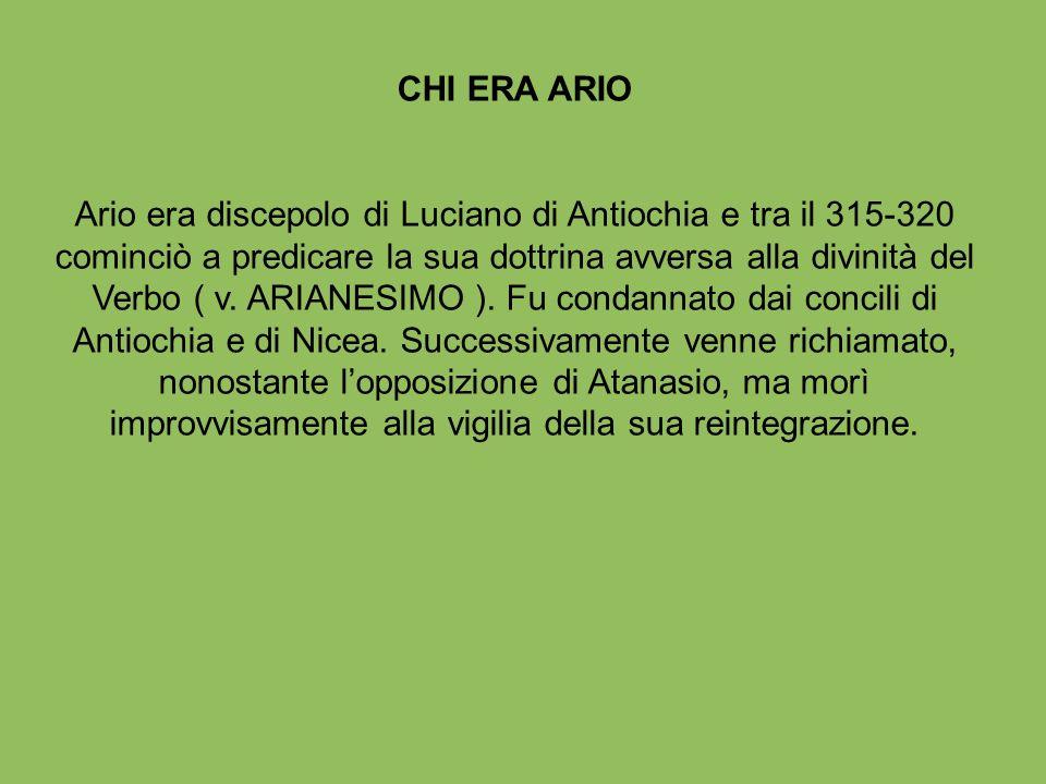 CHI ERA ARIO