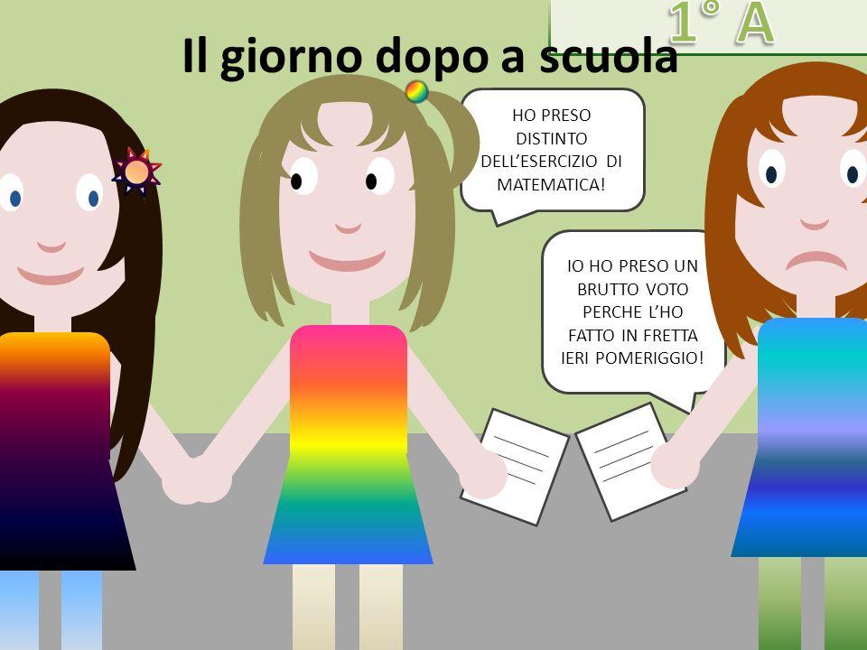 HO PRESO DISTINTO DELL'ESERCIZIO DI MATEMATICA!