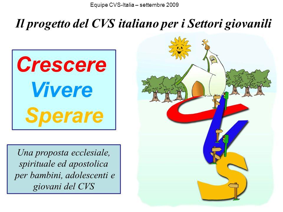 Il progetto del CVS italiano per i Settori giovanili