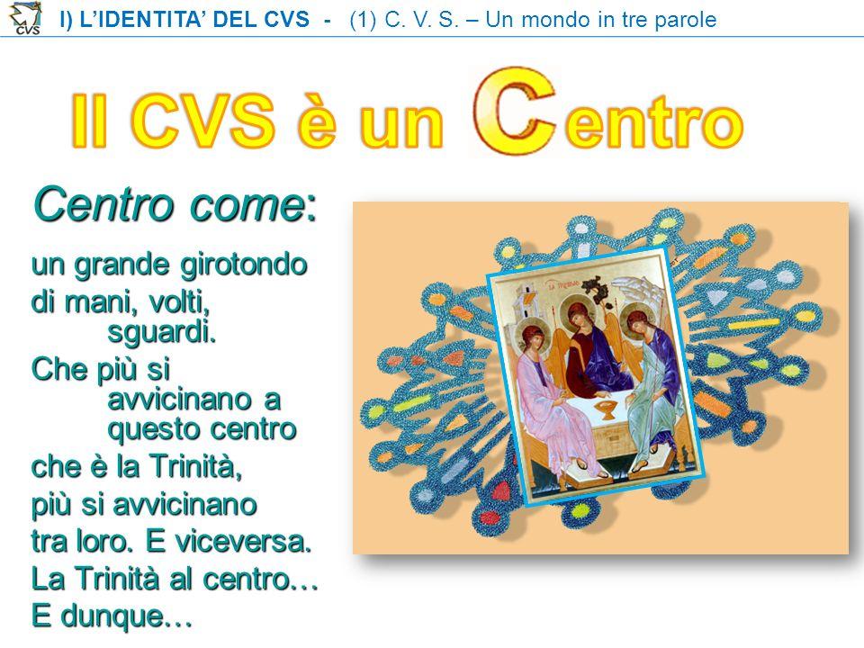 Il CVS è un entro Centro come: un grande girotondo