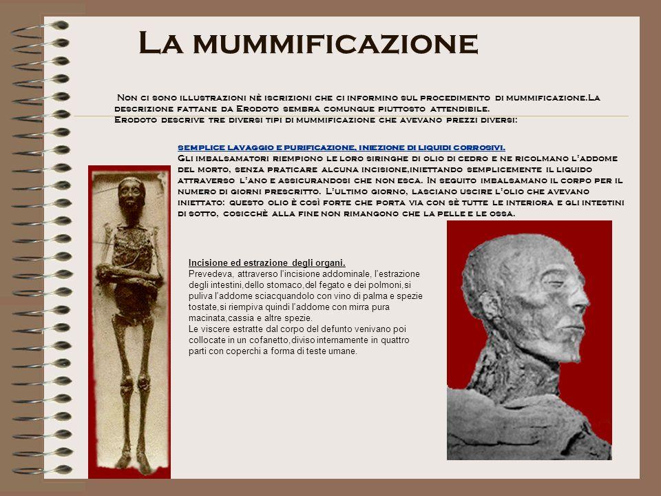 La mummificazione