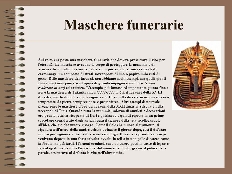 Maschere funerarie