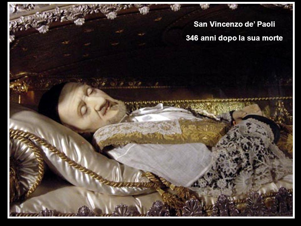 San Vincenzo de' Paoli 346 anni dopo la sua morte