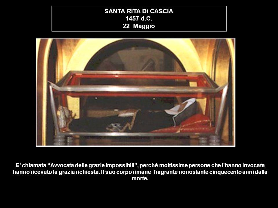 SANTA RITA Di CASCIA 1457 d.C. 22 Maggio