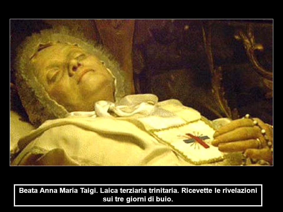 Beata Anna Maria Taigi. Laica terziaria trinitaria