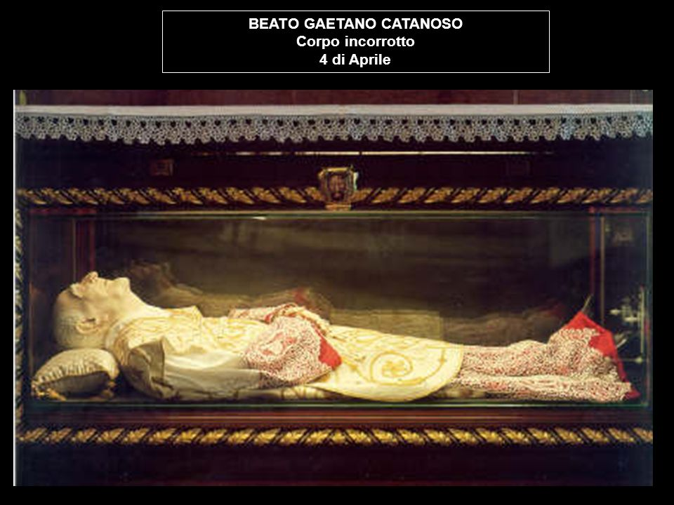 BEATO GAETANO CATANOSO