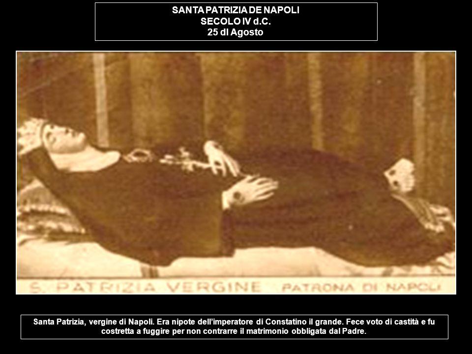 SANTA PATRIZIA DE NAPOLI