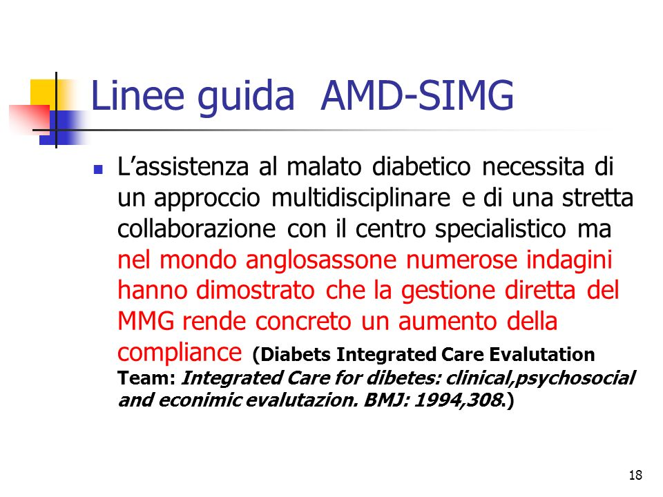 Linee guida AMD-SIMG