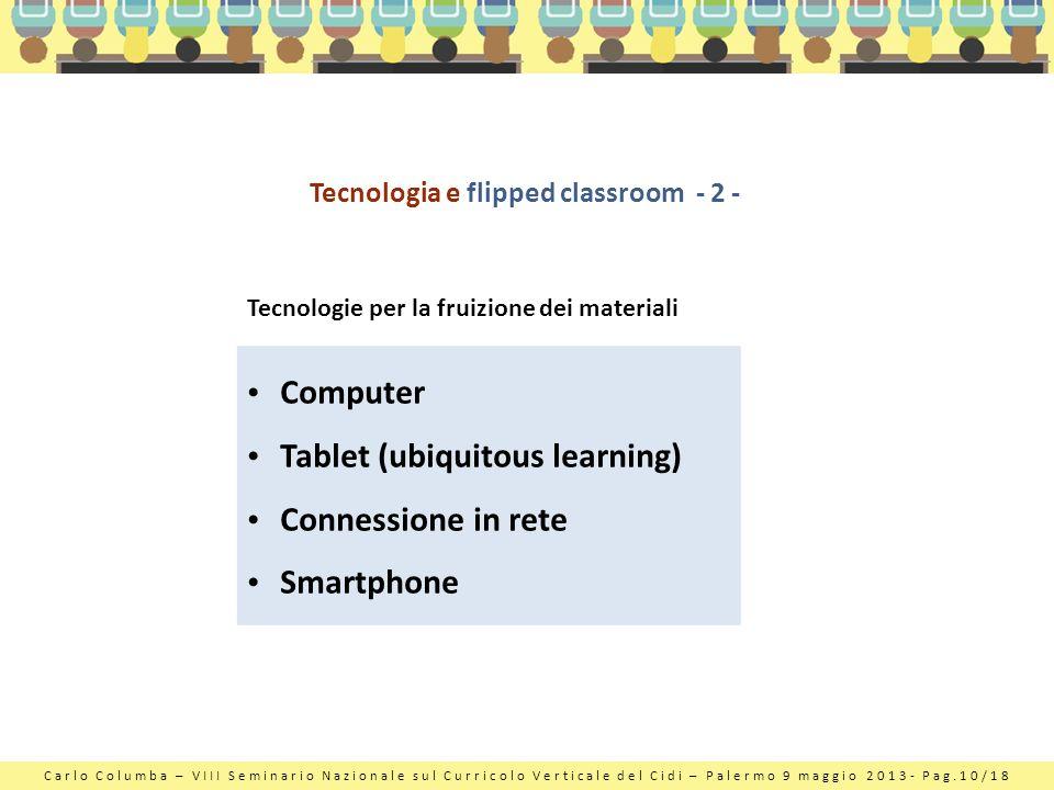 Tecnologia e flipped classroom - 2 -