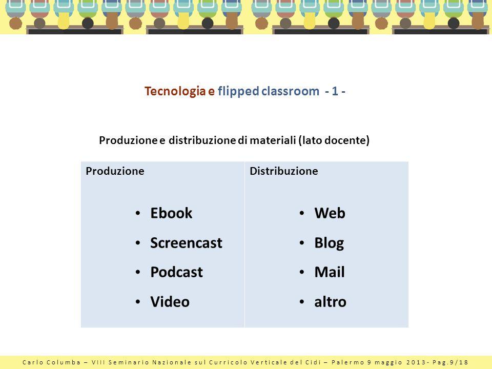 Tecnologia e flipped classroom - 1 -