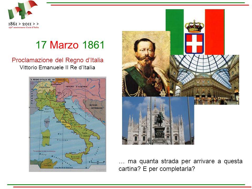 Proclamazione del Regno d'Italia Vittorio Emanuele II Re d'Italia