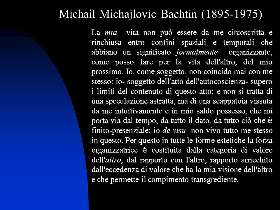 Michail Michajlovic Bachtin (1895-1975)