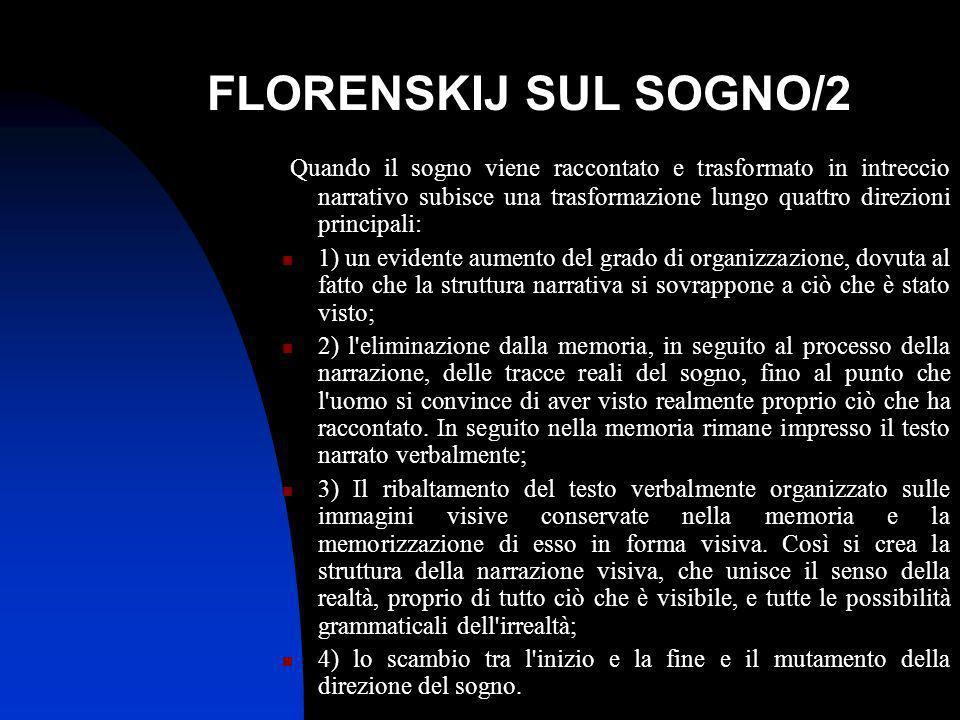 FLORENSKIJ SUL SOGNO/2