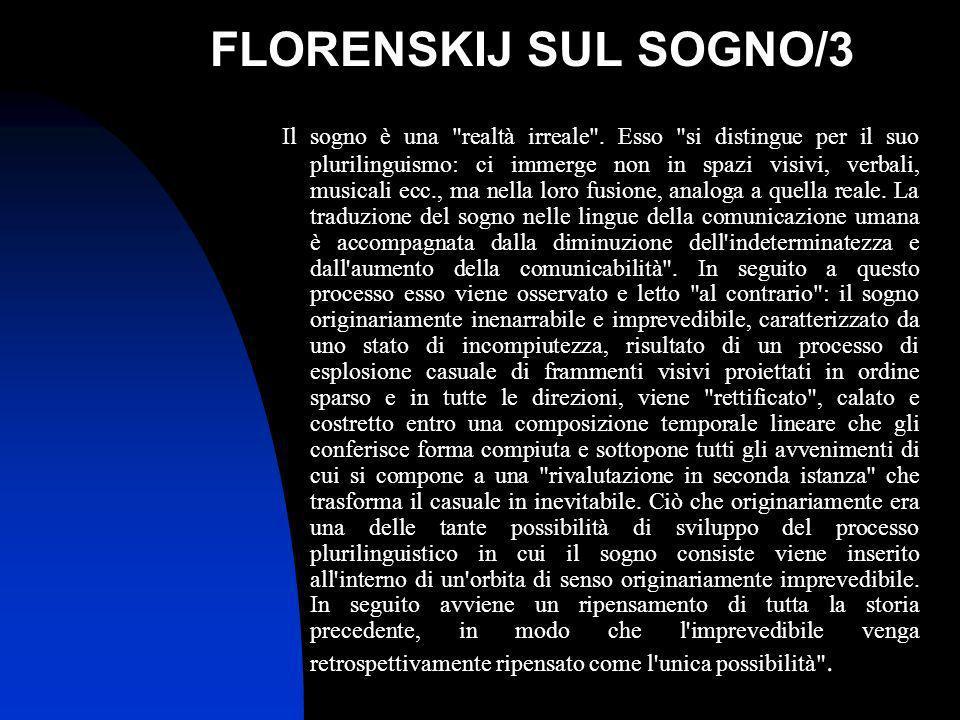 FLORENSKIJ SUL SOGNO/3