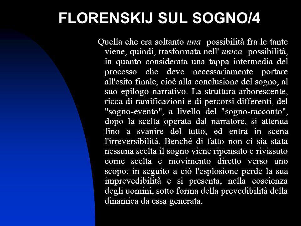 FLORENSKIJ SUL SOGNO/4