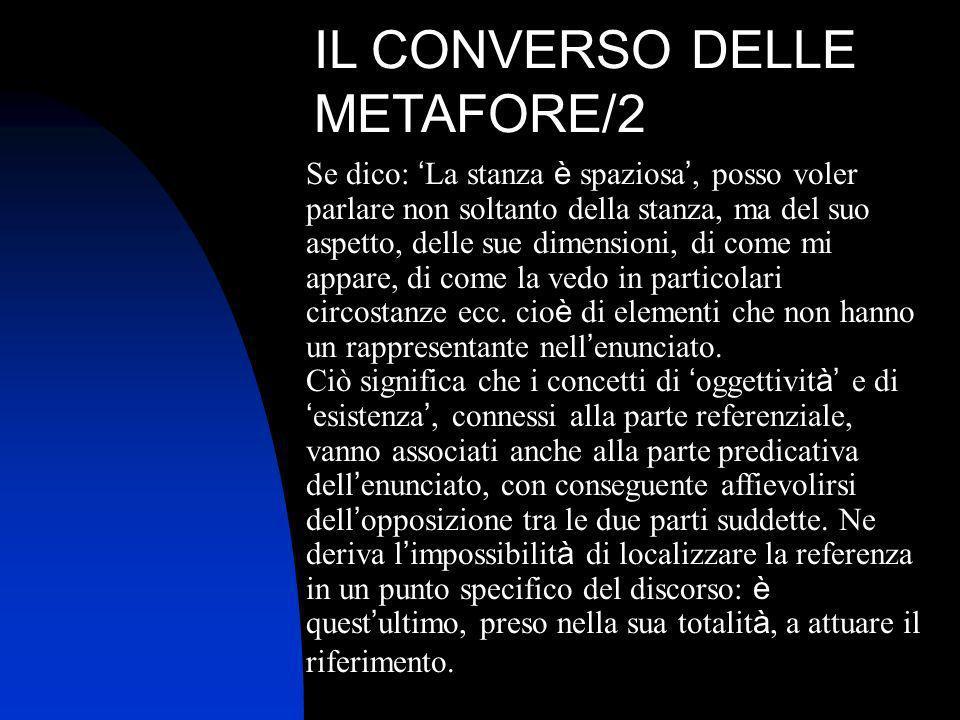 IL CONVERSO DELLE METAFORE/2