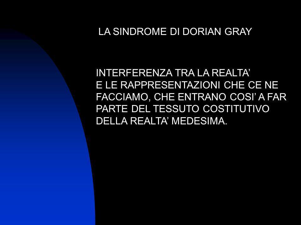 LA SINDROME DI DORIAN GRAY
