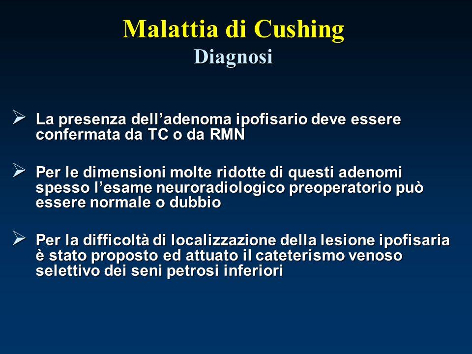 Malattia di Cushing Diagnosi