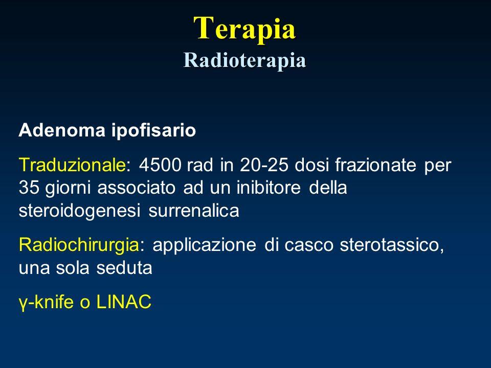 Terapia Radioterapia Adenoma ipofisario