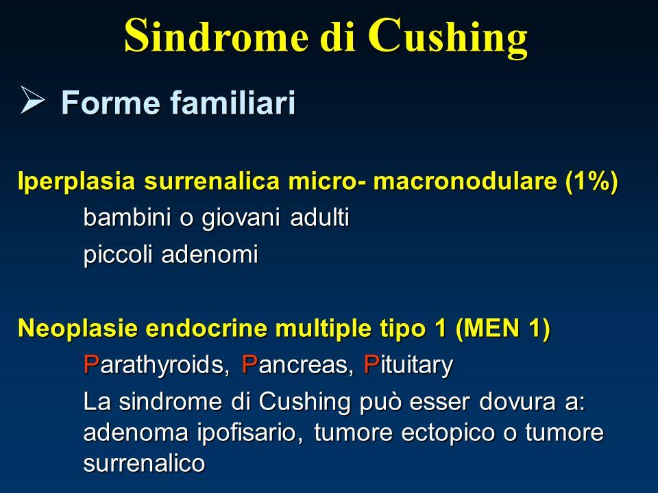 Sindrome di Cushing Forme familiari
