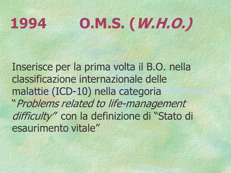 1994 O.M.S. (W.H.O.)