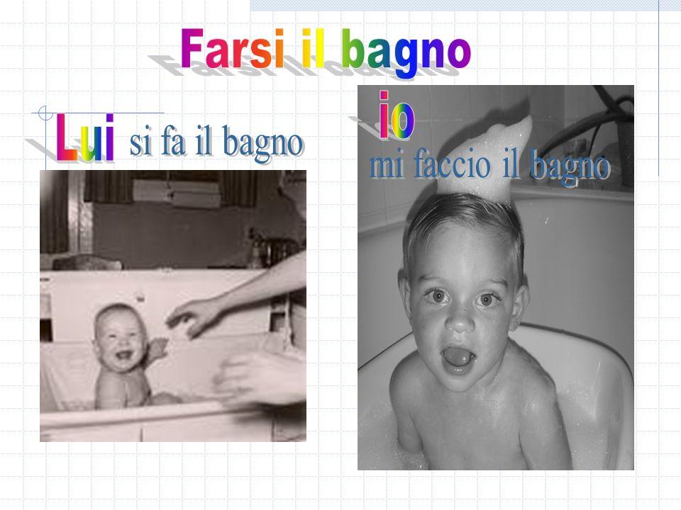 I verbi riflessivi in italiano ppt video online scaricare - 94 si fa in bagno ...