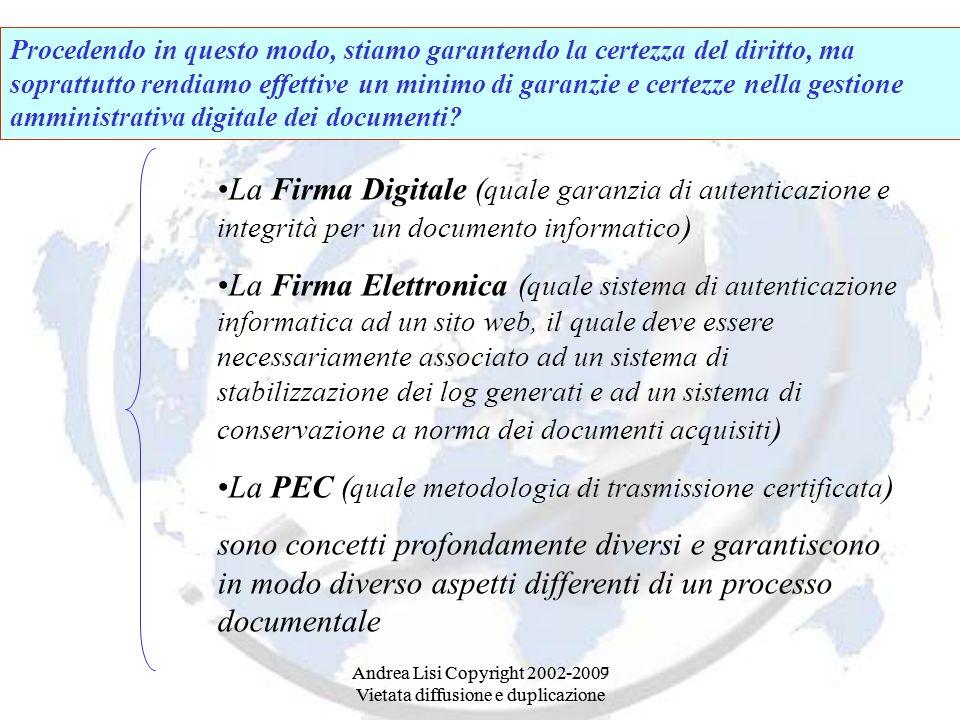 La PEC (quale metodologia di trasmissione certificata)