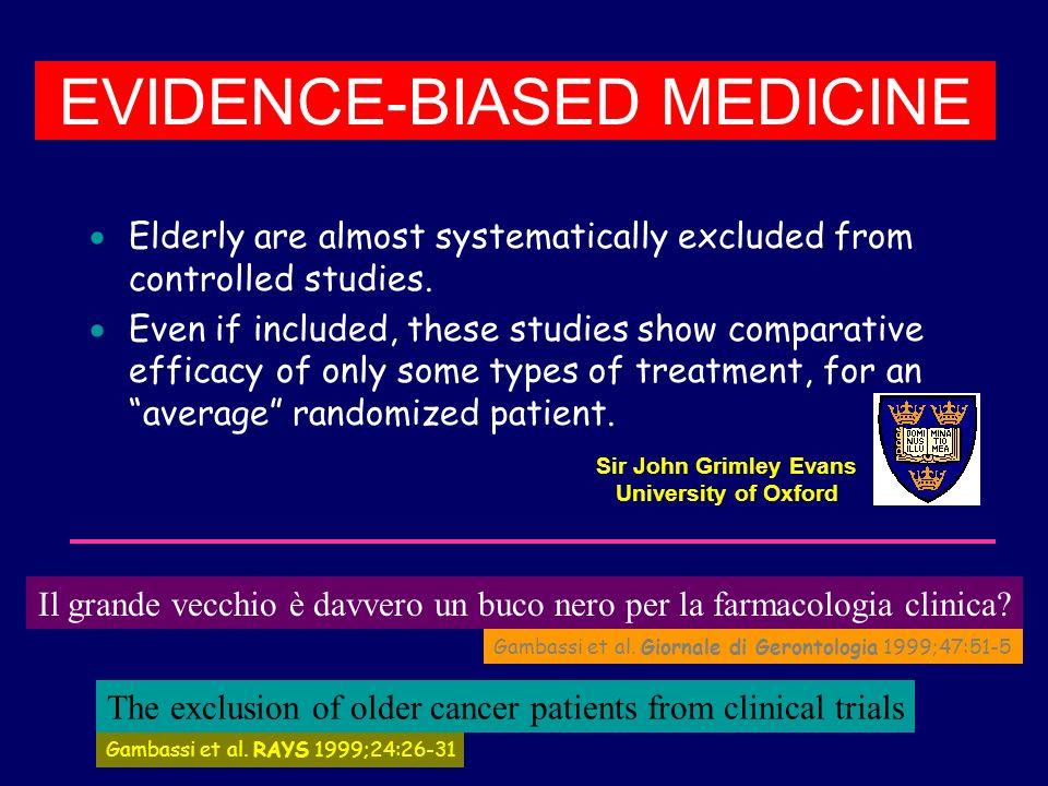 EVIDENCE-BIASED MEDICINE