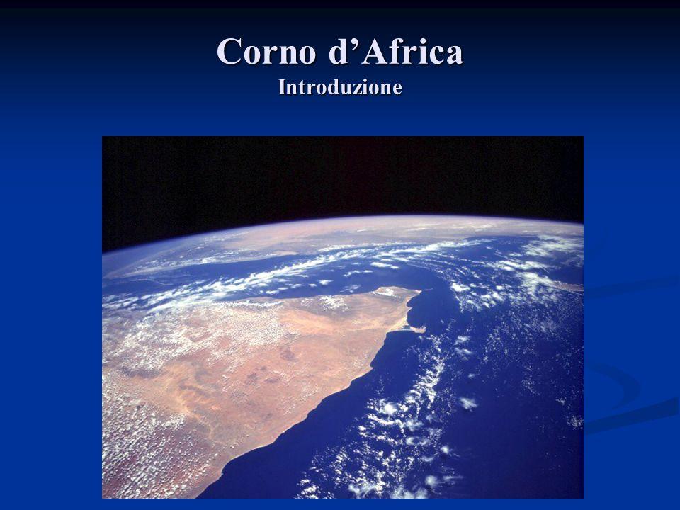 Corno d'Africa Introduzione