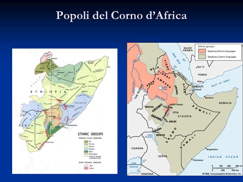 Popoli del Corno d'Africa