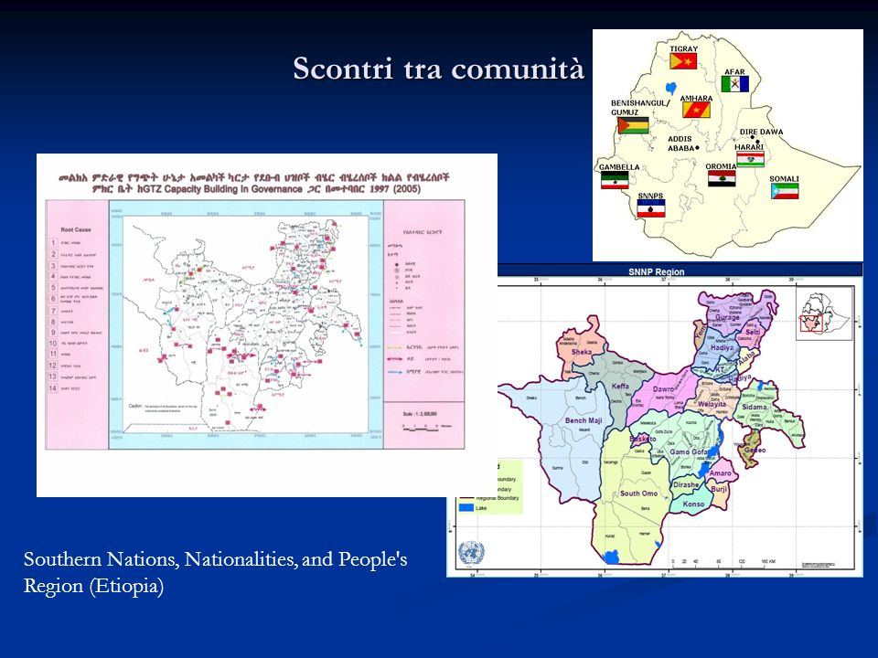 Scontri tra comunità Southern Nations, Nationalities, and People s Region (Etiopia)