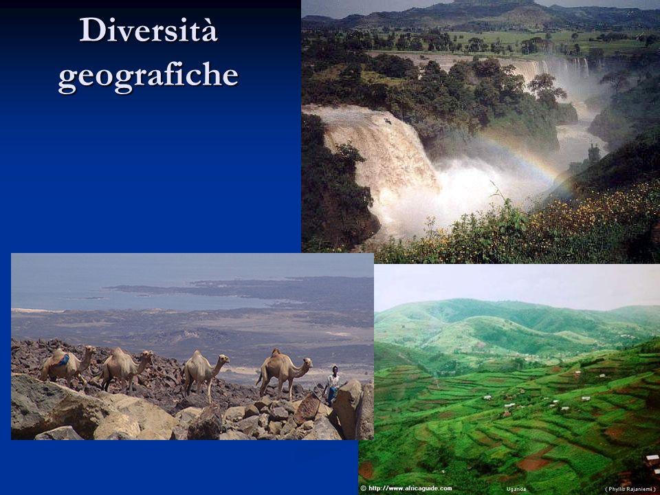Diversità geografiche