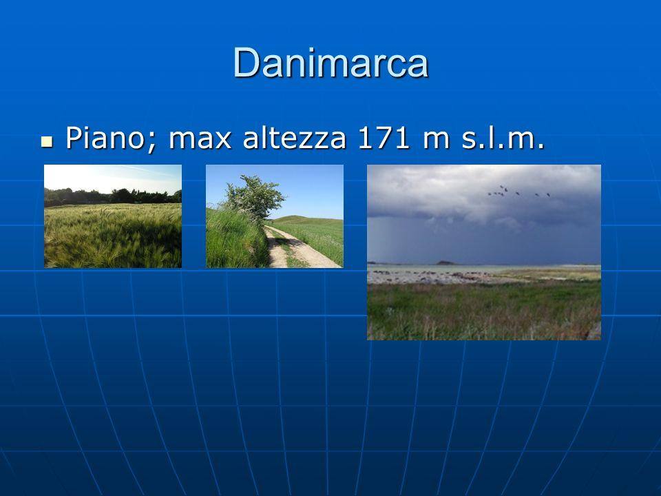 Danimarca Piano; max altezza 171 m s.l.m.