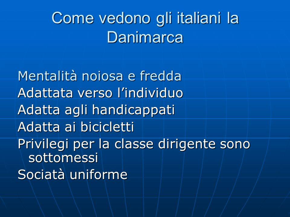 Come vedono gli italiani la Danimarca
