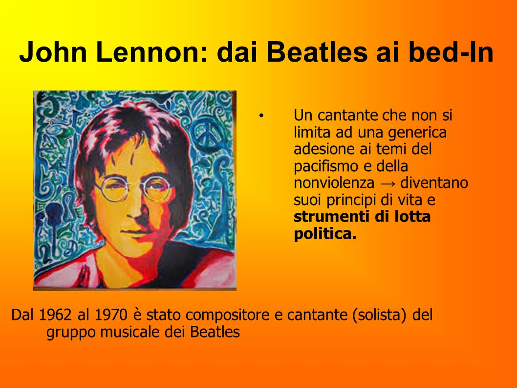 John Lennon: dai Beatles ai bed-In