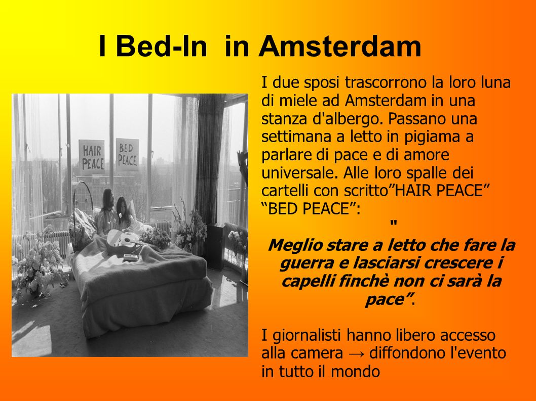 I Bed-In in Amsterdam