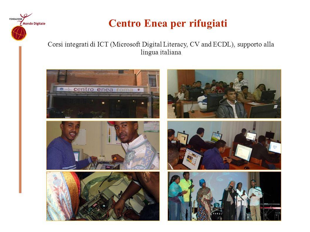 Centro Enea per rifugiati