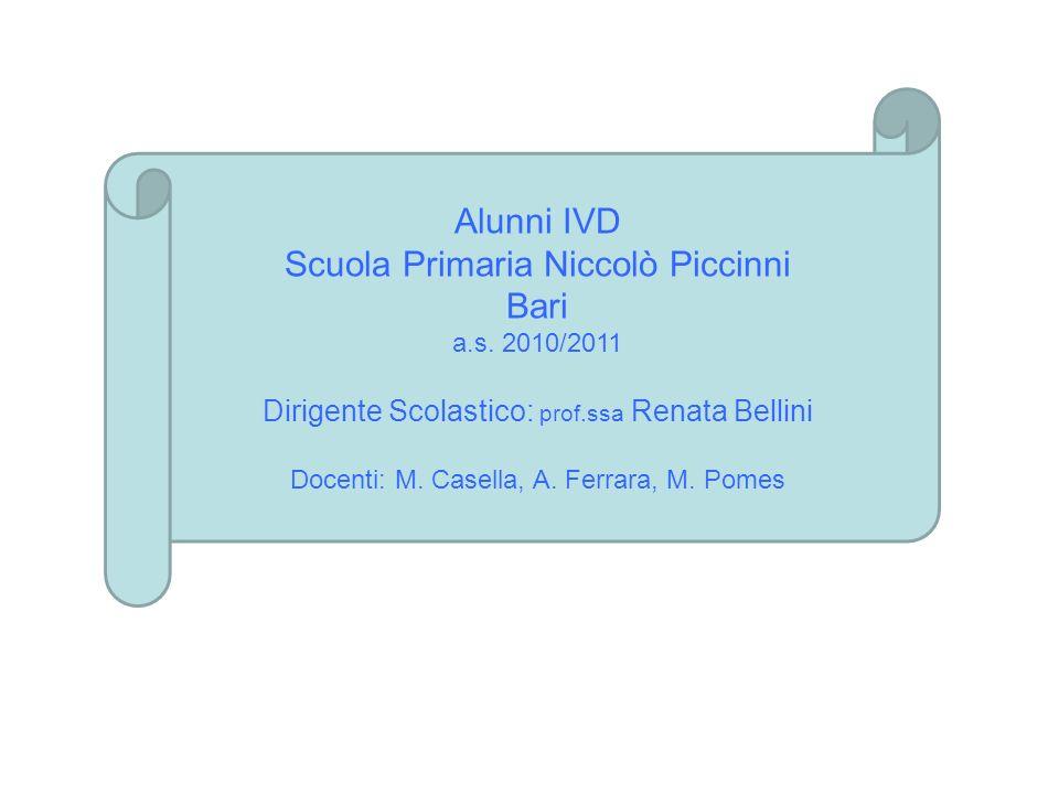 Scuola Primaria Niccolò Piccinni Bari