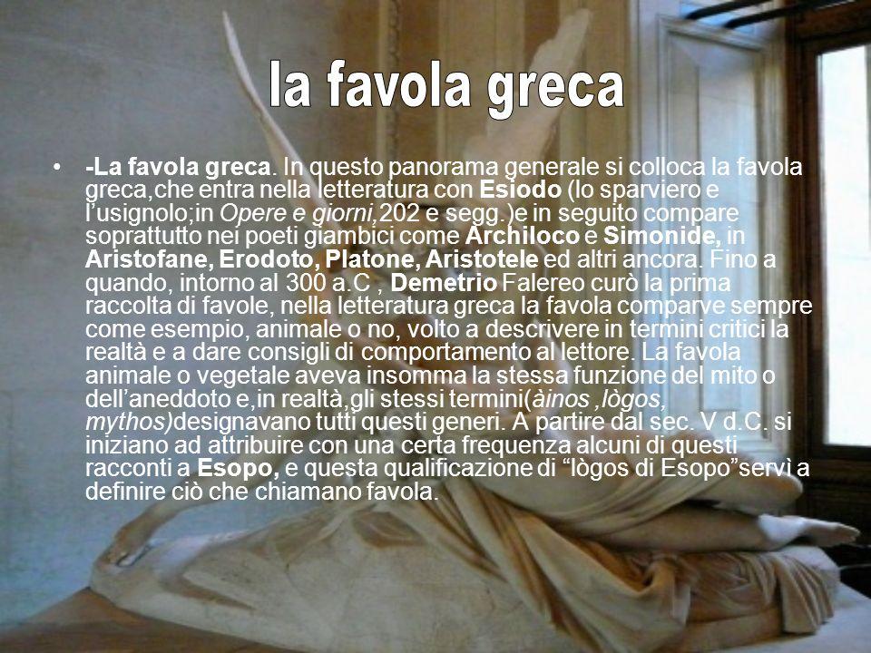 la favola greca