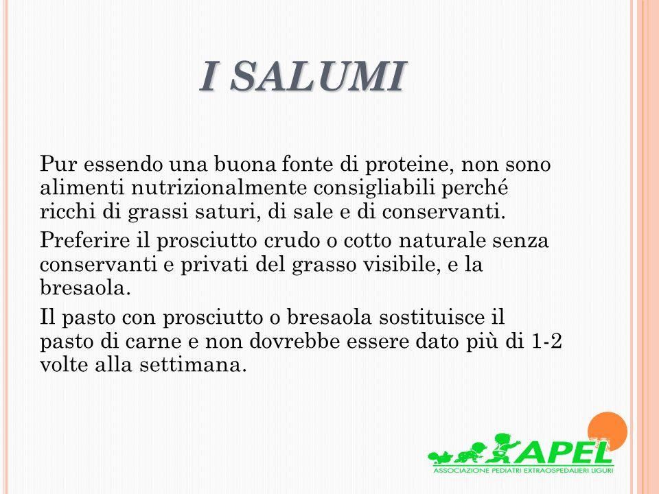 I SALUMI