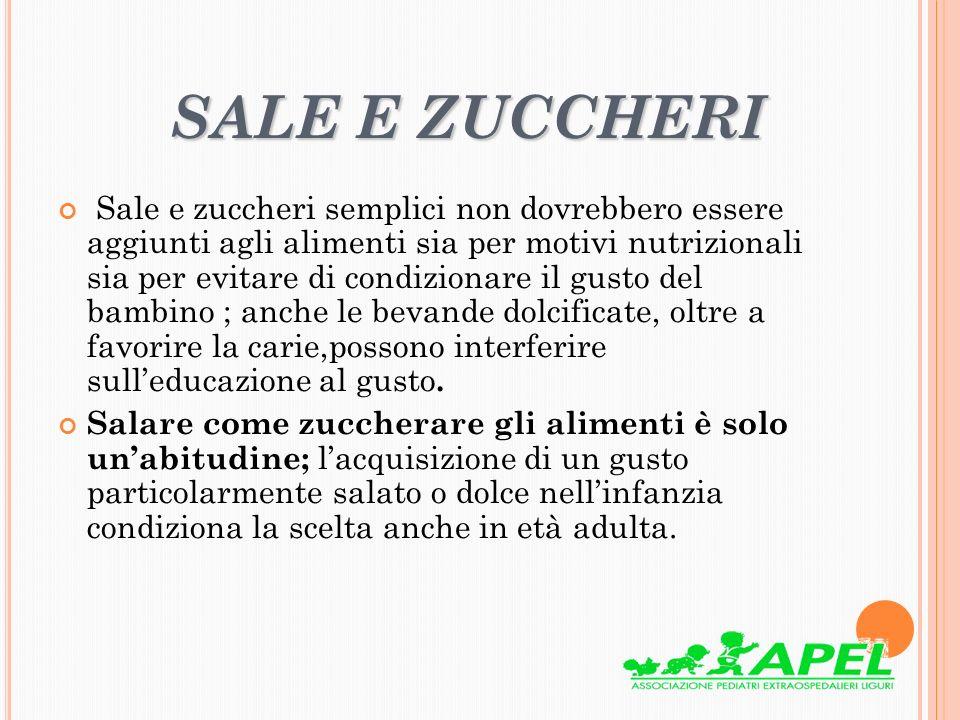 SALE E ZUCCHERI