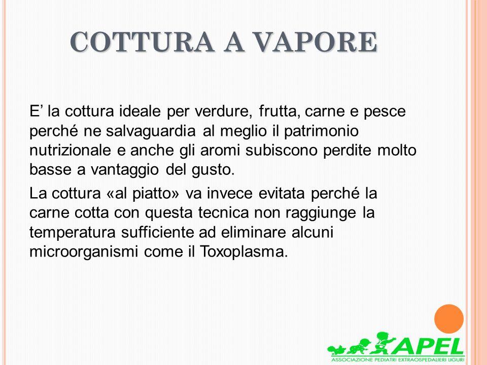 COTTURA A VAPORE