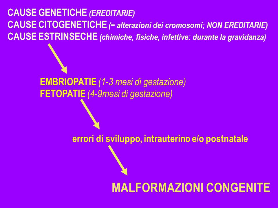 MALFORMAZIONI CONGENITE