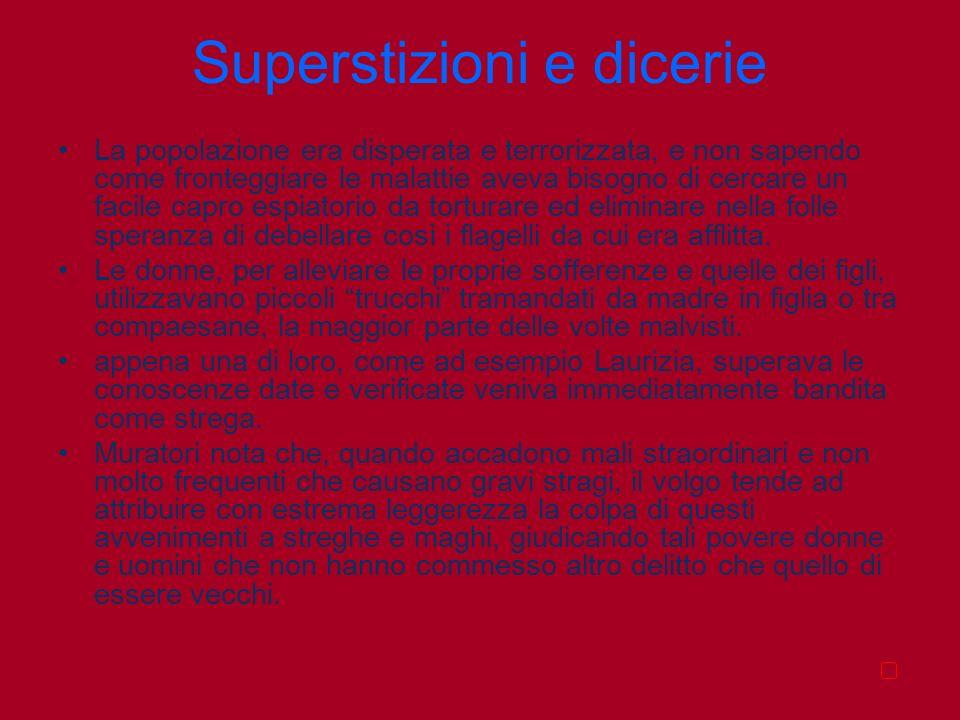 Superstizioni e dicerie