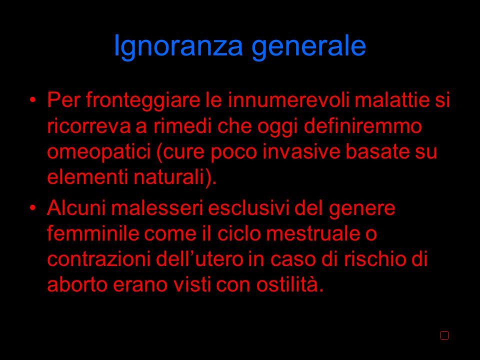 Ignoranza generale