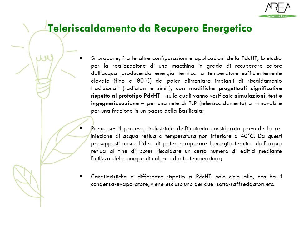 Teleriscaldamento da Recupero Energetico