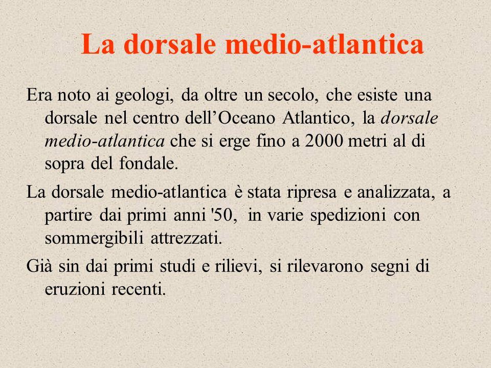 La dorsale medio-atlantica