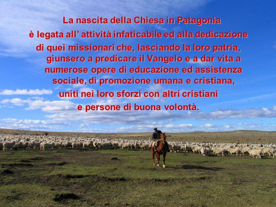 La nascita della Chiesa in Patagonia