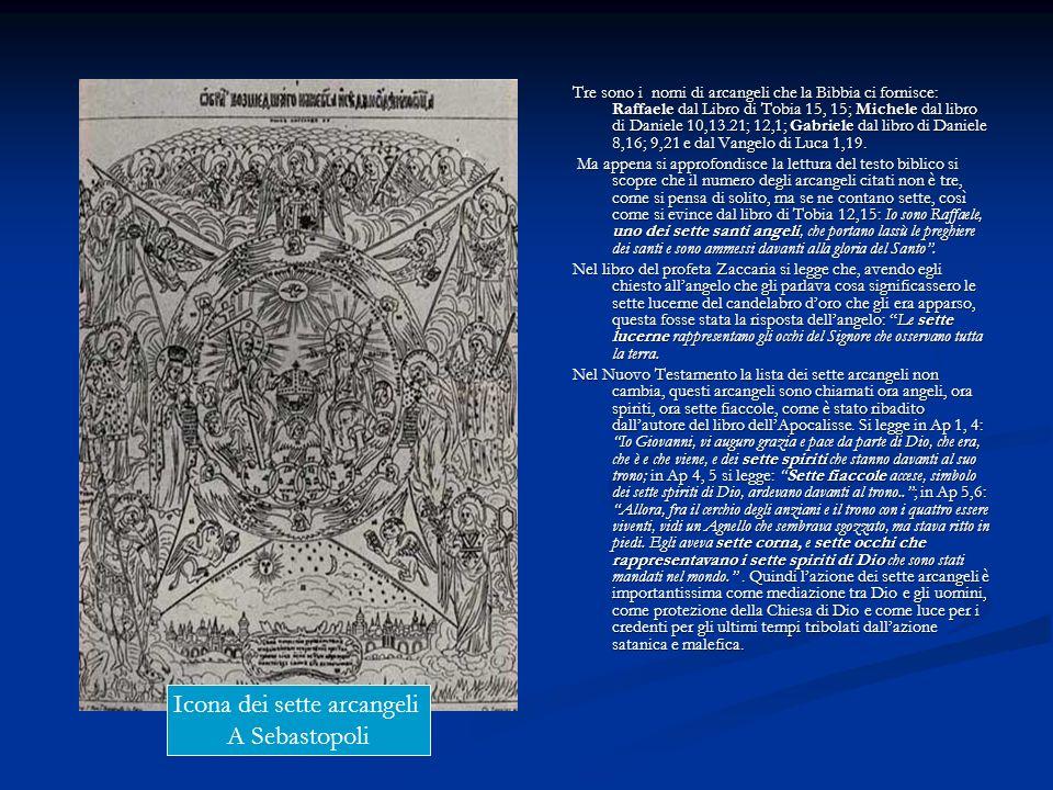 Icona dei sette arcangeli