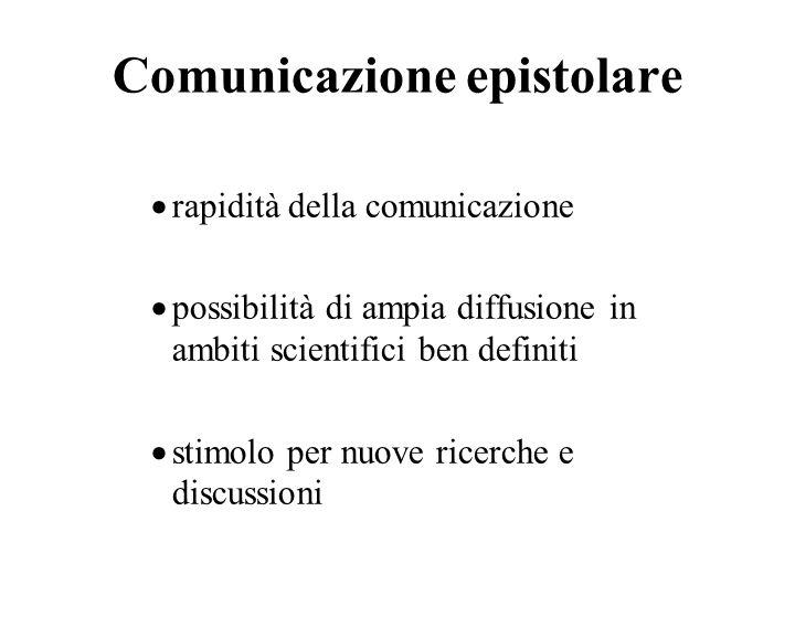 Comunicazione epistolare